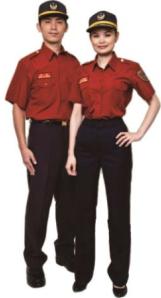 88年消防工作服